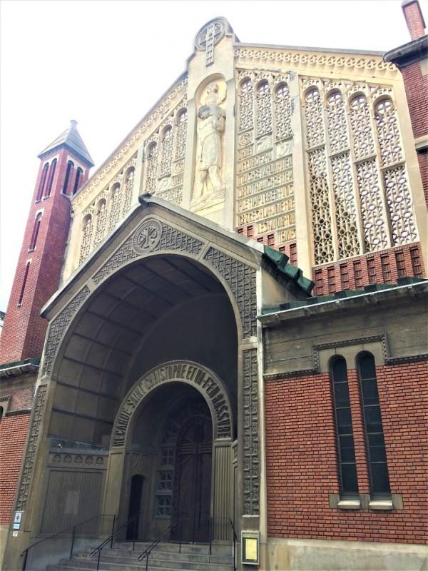 Extérieur de l'église Saint-Christophe-de-Javel