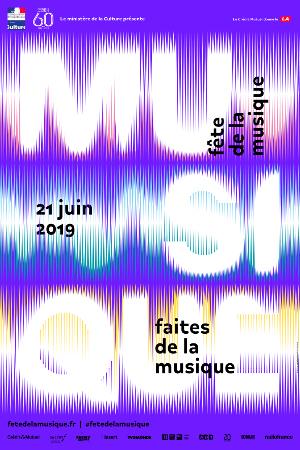 Affiche Fête de la Musique 2019
