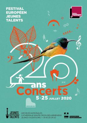 Affiche Jeunes Talents 2020