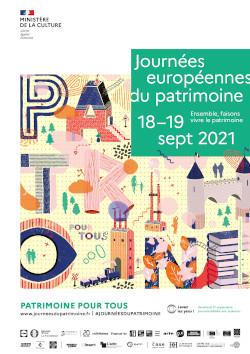 Journées du Patrimoine 2021 - Affiche