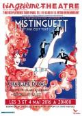 Mistinguett (et puis c'est tout !) au Le Vingtième Théâtre