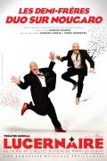 Les Demi-frères, duo sur Nougaro au Théâtre du Lucernaire