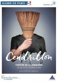 Cendrillon à La Jonquière : flyer recto