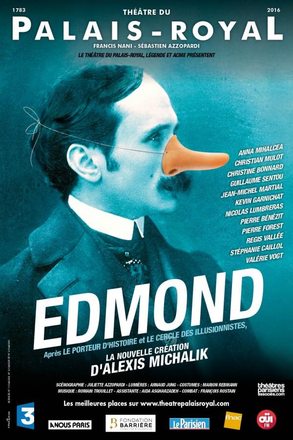 Edmond au Théâtre du Palais-Royal