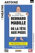 Bernard Mabille : De la tête aux pieds au Théâtre Antoine