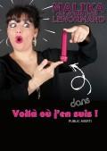 Malika Lenormand : Voilà où j'en suis ! à Ze artist's Café-théâtre