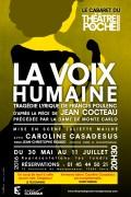 La Dame de Monte Carlo / La Voix humaine au Théâtre de Poche
