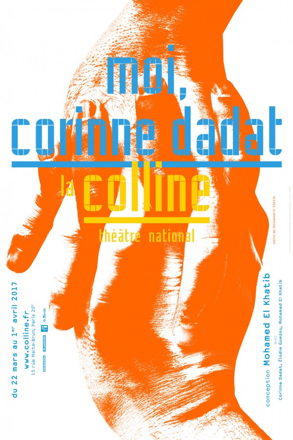 Moi, Corinne Dadat au Théâtre de la Colline