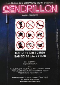 Cendrillon au Théâtre Montmartre Galabru