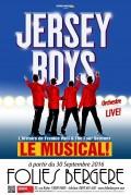 Jersey Boys, le musical aux Folies Bergère