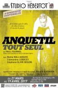 Anquetil tout seul au Studio Hébertot