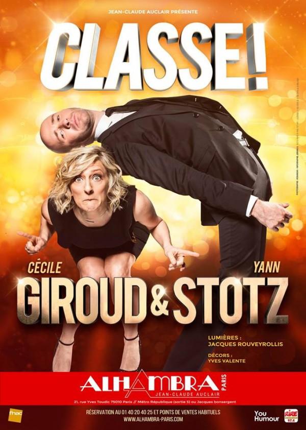 Giroud & Stotz : Classe à l'Alhambra