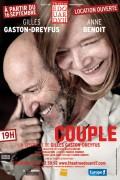 Couple au Théâtre Édouard VII : Affiche