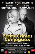 Petits crimes conjugaux au Théâtre Rive Gauche
