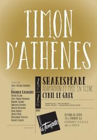 Timon d'Athènes au Théâtre de la Tempête