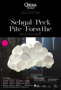 Tino Sehgal / Justin Peck / Crystal Pite / William Forsythe à l'Opéra Garnier