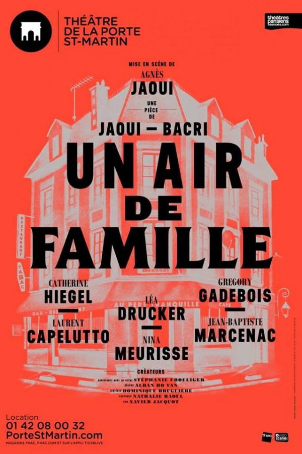 Un air de famille au Théâtre de la Porte Saint-Martin