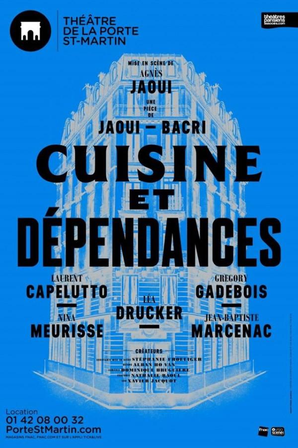 Cuisine et dépendances au Théâtre de la Porte Saint-Martin