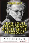 Trintignant / Mille / Piazzolla à la Salle Pleyel