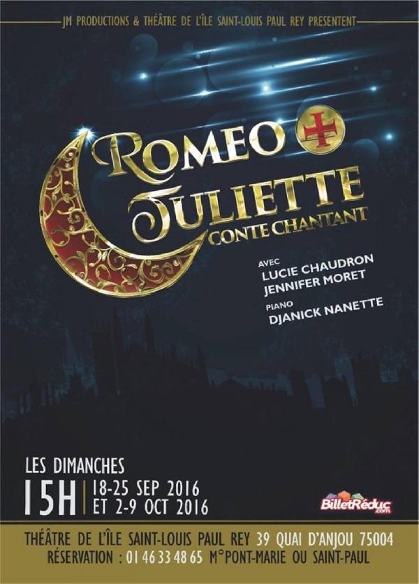Roméo et Juliette (conte chantant) au Théâtre de l'Île Saint-Louis