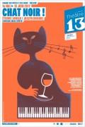 Chat noir au Théâtre 13