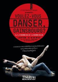 Voulez-vous danser, Gainsbourg ? au Théâtre de Ménilmontant