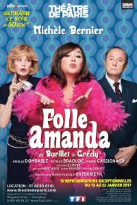 Folle Amanda au Théâtre de Paris