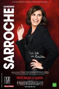 Sandrine Sarroche : La Loi du Talon au Palais des Glaces