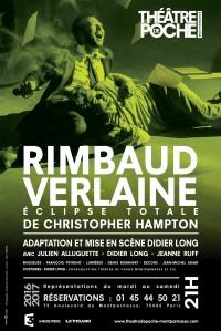 Rimbaud Verlaine - éclipse totale au Théâtre de Poche-Montparnasse