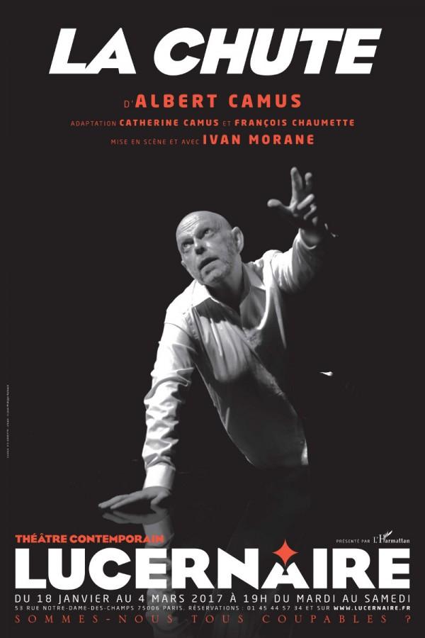 La Chute au Théâtre du Lucernaire, avec Ivan Morane