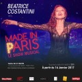 Made in Paris : Béatrice Costantini au Théâtre BO Saint-Martin