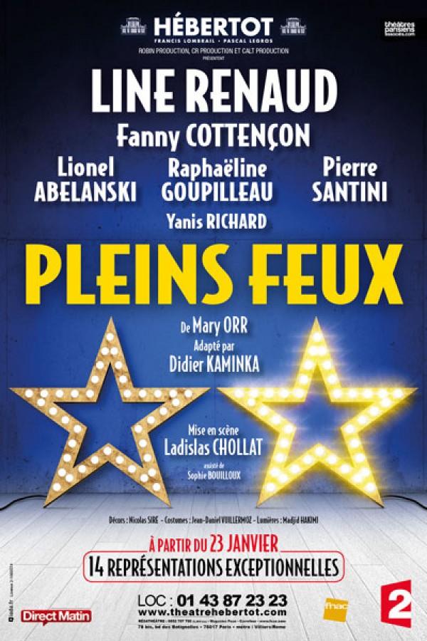 Pleins feux au Théâtre Hébertot avec Line Renaud, Fanny Cottençon et Pierre Santini