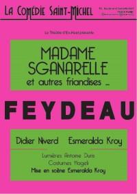 Madame Sganarelle et autres friandises à la Comédie Saint-Michel