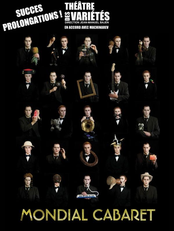 Mondial Cabaret au Théâtre des Variétés : prolongations