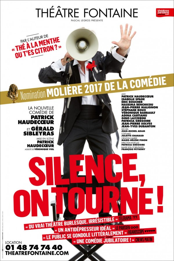 Silence, on tourne ! au Théâtre Fontaine