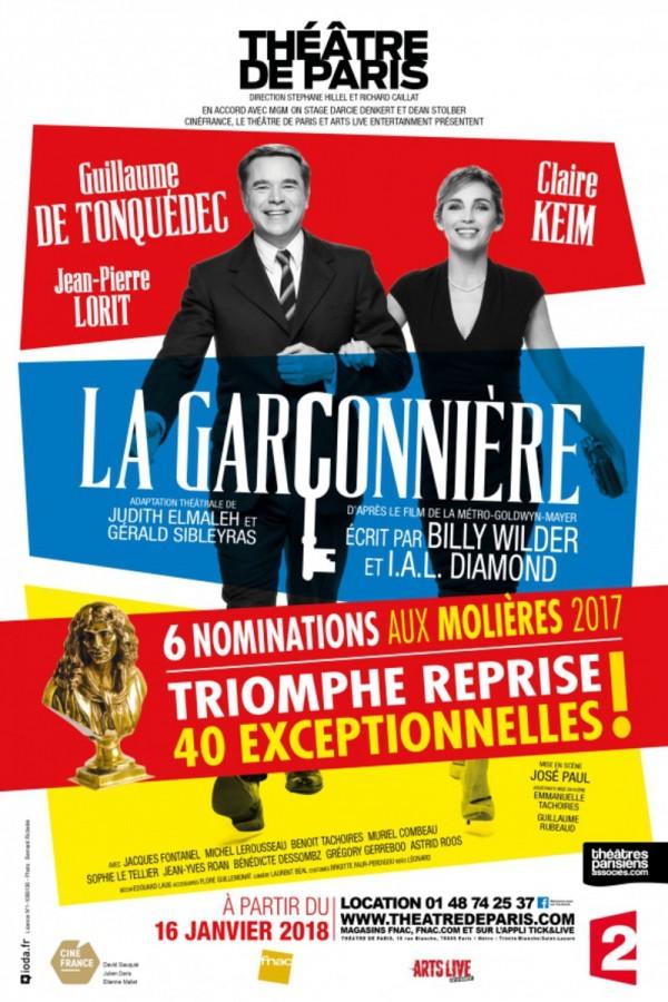 La Garçonnière au Théâtre de Paris