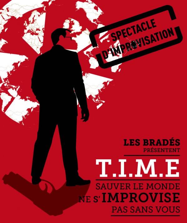 T.I.M.E : Le Spectacle d'improvisation ! à La Nouvelle Seine