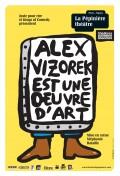 Alex Vizorek est une œuvre d'art au Théâtre La Pépinière