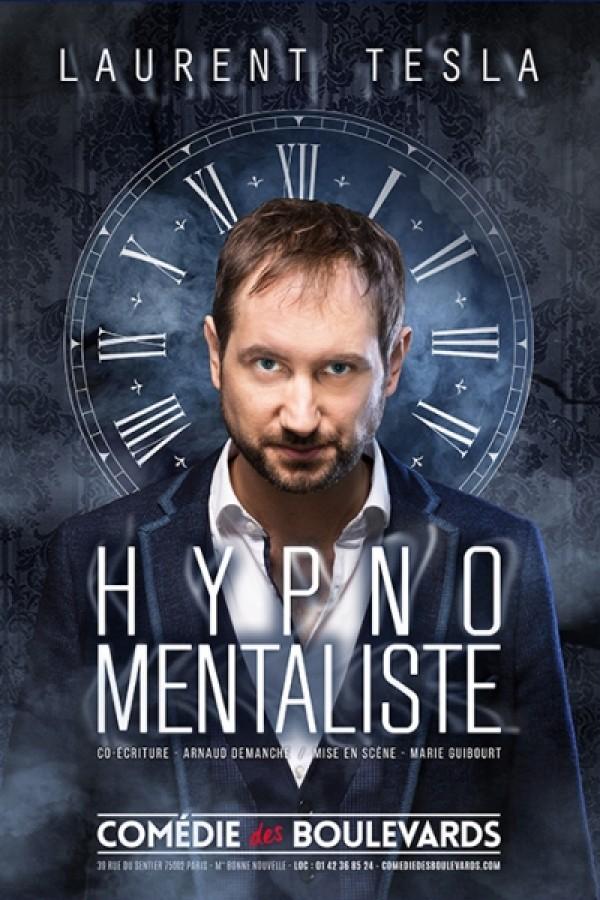 Laurent Tesla : Hypno Mentaliste à la Comédie des Boulevards