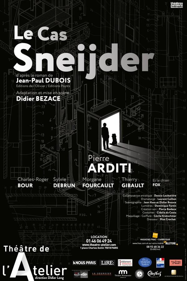 Le Cas Sneijder au Théâtre de l'Atelier