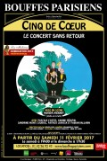 Cinq de cœur : Le concert sans retour au Théâtre des Bouffes Parisiens