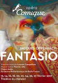 Fantasio par l'Opéra Comique au Théâtre du Châtelet