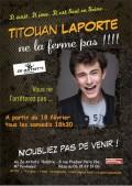 Titouan Laporte ne la ferme pas ! à Ze artist's Café-théâtre