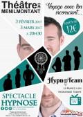 Hypnoteam : voyage dans ton inconscient au Théâtre de Ménilmontant