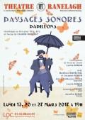 Paysages sonores au Théâtre Ranelagh