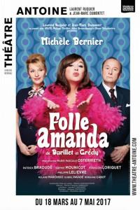 Folle Amanda au Théâtre Antoine, avec Michèle Bernier