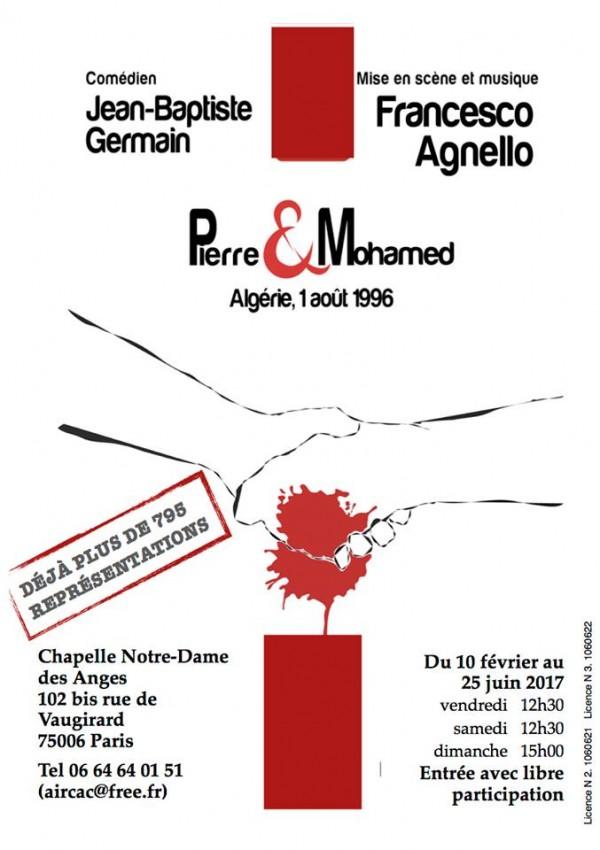 Pierre et Mohamed à la Chapelle Notre-Dame-des-Anges