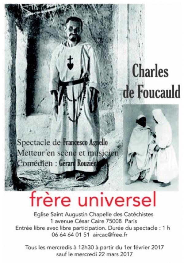 Charles de Foucauld frère universel à l'Église Saint-Augustin