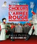 Les Chœurs de l'Armée Rouge à la Salle Pleyel
