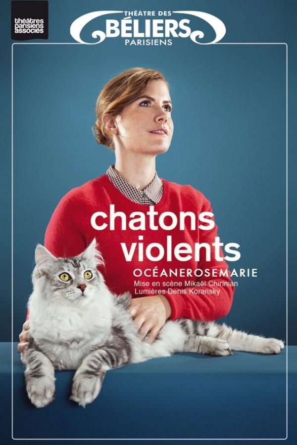 Océanerosemarie : Chatons Violents au Théâtre des Béliers parisiens